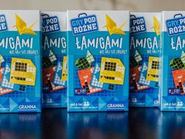 """""""Łamigami"""" to jednoosobowa gra logiczna dla dzieci i dorosłych (fot. Ewelina Zielińska)"""