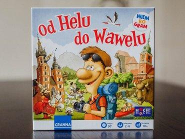 """""""Od Helu do Wawelu"""" to geograficzna gra rodzinna od wydawnictwa Granna (fot. Ewelina Zielińska)"""
