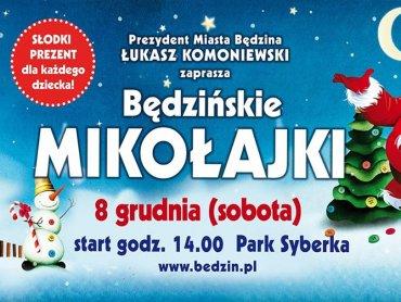 8 grudnia w parku Syberka będzie można spotkać Świętego Mikołaja (fot. mat. organizatora)