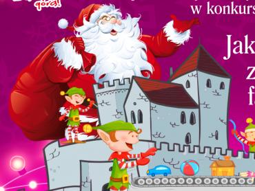 Jak wyglądałby Zamek w Będzinie, gdyby stał się fabryką Mikołaja? (fot. mat. organizatora)