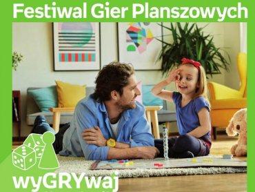 Gry planszowe to świetna rozrywka dla całej rodziny (fot. mat. organizatora)