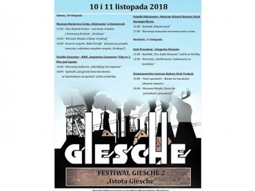 Druga edycja festiwalu Gesche odbędzie się 10 i 11 listopada (fot. mat. organizatora)