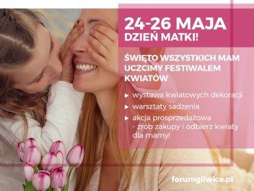 Festiwal Kwiatów odbędzie się 24-26 maja w CH Forum w Glwicach (fot. mat. organizatora)