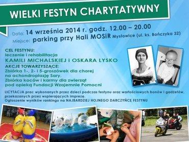 Wielki Festyn Charytatywny odbędzie się 14 września (fot. materiały prasowe)