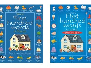Ładne ilustracje i ciekawa forma nauki w postaci naklejek zachęcą dziecko do poznawania języka (fot. mat. PlacFrancuski.pl)
