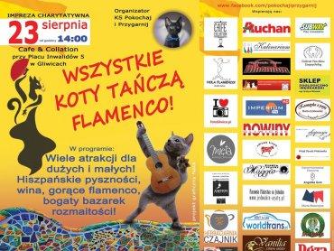 """""""Wszystkie koty tańczą flamenco"""" to charytatywna impreza w hiszpańskim klimacie (fot. mat. organizatora)"""