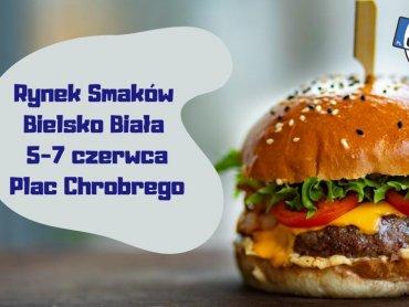 Rynek Smaków będzie gościł w Bielsku-Białej przez trzy dni (fot. mat. organizatora)