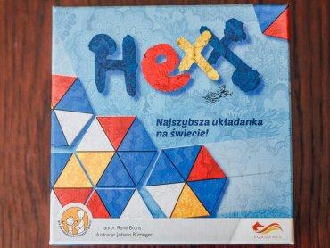 """""""Hexx - najszybsza układanka na świecie"""" to gra od wydawnictwa Foxgames (fot. Ewelina Zielińska)"""
