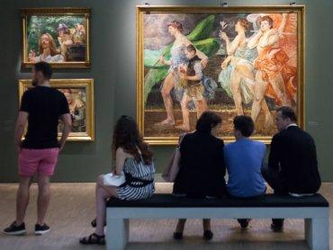 W Galerii sztuki polskiej powstała strefa wyciszenia Interim (fot. mat. Muzeum Śląskiego)