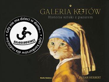 """Mamy dla Was albumy """"Galeria Kotów"""" od wydawnictwa Media Rodzina (fot. mat. Silesia Dzieci)"""