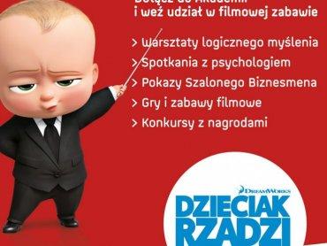 """Atrakcje związane z filmem """"Dzieciak rządzi"""" czekają na Was 22 kwietnia (fot. foter.com)"""