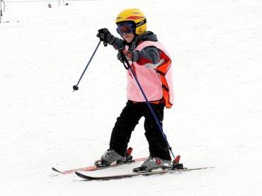 Górka Środulska to świetne miejsce dla początkujących narciarzy (fot. mat. MOSIR Sosnowiec)