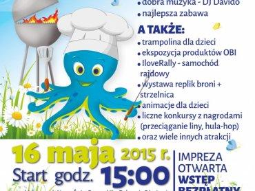 Wielkie grillowanie szykuje się w sobote przed aquaparkiem Nemo Wodny Świat (fot. mat. organizatora)