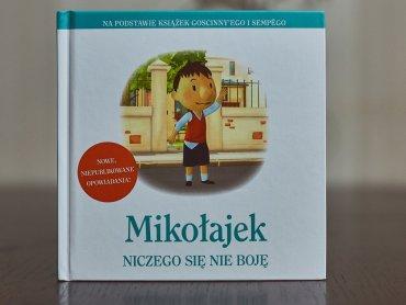 """""""Mikołajek. Niczego się nie boję"""" to najnowsza część przygód Mikołajka od wydawnictwa Znak (fot. Ewelina Zielińska)"""