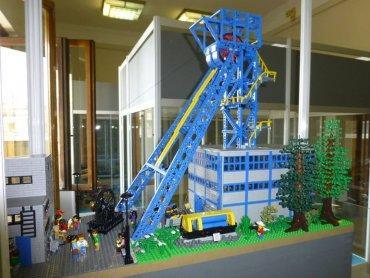 Z klocków Lego można zrobić wszystko, np. szyb kopalni (fot. mat. organizatora)