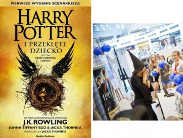 """Premierze książki """"Harry Potter i Przeklęte Dziecko"""" towarzyszyć będą liczne atrakcje (fot. mat. Media Rodzina)"""