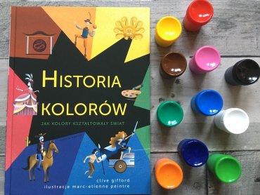 """""""Historia kolorów"""" zachwyca wielością ciekawostek dotyczących barw (fot. Ewelina Zielińska/SilesiaDzieci.pl)"""