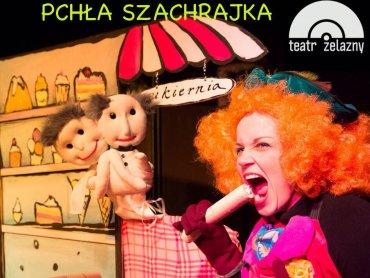 Pchła Szachrajka zostanie wystawiona na deskach Teatru Żelaznego (fot. mat. organizatora)