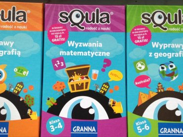 Mamy dla Was trzy quizy od wydawnictwa Granna dla dzieci w różnym wieku (fot. Ewelina Zielińska)