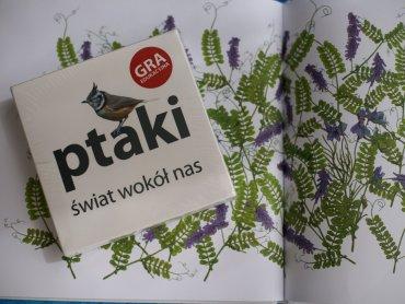"""Mamy dla Was dwa egzemplarze gry """"Ptaki. Świat wokół nas"""" od wydawnictwa Jacobsony (fot. Ewelina Zielińska)"""