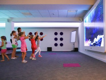 Multimedialna Sala Zabaw Baby Planet to niezwykłe miejsce dla dzieci znajdujące się w Sosnowcu (fot. mat. Baby Planet)