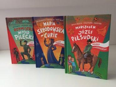 W naszym konkursie możecie wygrać biografię Józefa Piłsudskiego (fot. mat. Silesia Dzieci)