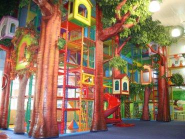 """Nibylandia to centrum dziecięcej rozrywki inspirowane krainą z """"Piotrusia Pana"""" (fot. mat. Nibylandia)"""
