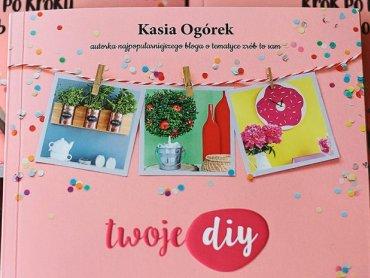 Mamy dla Was trzy egzemplarze najnowszej książki Kasi Ogórek (fot. Ewelina Zielińska)