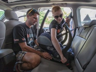 Ogólnopolskie Inspekcje Fotelików Samochodowych organizowane są w całym kraju po raz trzeci (fot. materiały organizatora)