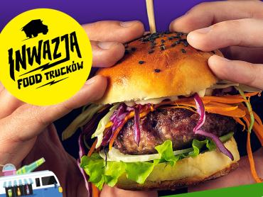 Inwazja food trucków odbędzie się na parkingu Parku Handlowego Arena (fot. mat. organizatora)