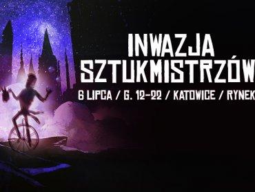 6 lipca Rynek w Katowicach zamieni się w miasteczko cyrkowe pełne magii i zapierających dech w piersiach akrobacji (fot. mat. Miasta Ogrodów)
