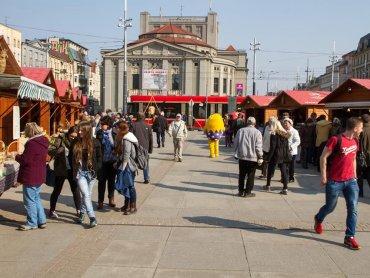 Jarmark Wielkanocny w Katowicach (fot. archiwum zdjęć na Fb/Katowice-oficjalny profil miasta)