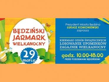 Wielkanocny jarmark odbędzie się w Będzinie 29 marca (fot. mat. organizatora)