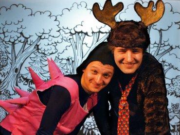 Zwierzęta z Dobrego Lasu przeżyją wiele przygód nim wrócą do domu (fot. mat. Teatr Gry i Ludzie)