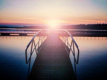 Jezioro Paprocany (fot. Piotrek Liseq, facebook.com/GdziesWTychach)