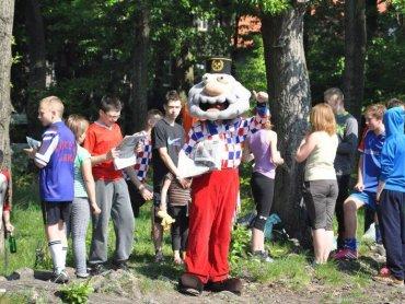 Na festynie będzie można spotkać Jorgusia - lubianą przez dzieci maskotkę Górnika Zabrze (fot. Górnik Zabrze)