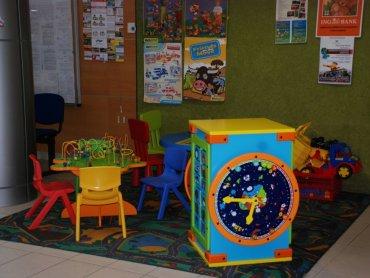 Kącik dla dzieci to świetny pomysł (fot. materiały SD)