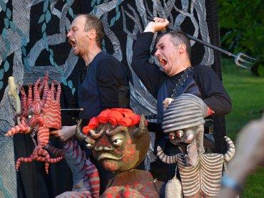 Na najbliższym Podwieczorku Teatralnym poznacie przygody skrzata Kacperka (fot. mat. Teatr Gry i Ludzie)