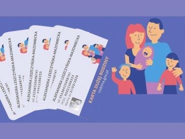 Karta Dużej Rodziny uprawnia do zakupów ze zniżką i korzystania z tańszych usług w poszczególnych sklepach i punktach usługowych (fot. materiały prasowe)