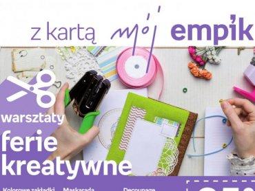 Kreatywne warsztaty pozwolą rozwinąć artystyczne zdolności każdego dziecka (fot. Empik)