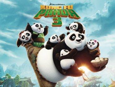 """""""Kung Fu Panda 3"""" to animacja, na którą mamy dla Was podwójne bilety (fot. mat. Planet Cinema)"""