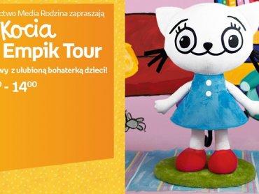 Spotkanie z Kicią Kocią odbędzie się 1 sierpnia w Empik Silesia w Katowicach (fot. mat. organizatora)