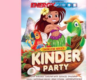 Kinder Party odbędzie się 26 sierpnia w Klubie Energy 2000 w Katowicach (fot. mat. organizatora)