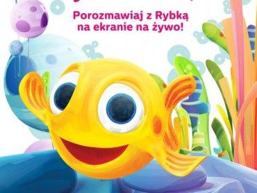 W konkursie można wygrać jedną z trzech podwójnych wejściówek na interaktywne show z Rybką MiniMini (fot. mat. organizatora)