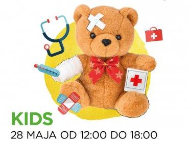 Klinika dla pluszaków pojawi się w Gliwicach 28 maja (fot. mat. organizatora)