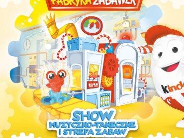 Fabryka Zabawek to mnóstwo bezpłatnych atrakcji dla dzieci oraz muzyczno-taneczne show (fot. mat. organizatora)