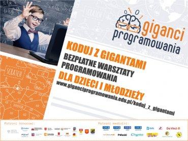 Otwarte zajęcia nauki programowania dla dzieci i młodzieży odbędą się w 3 miastach naszego regionu (fot. mat. organizatora)