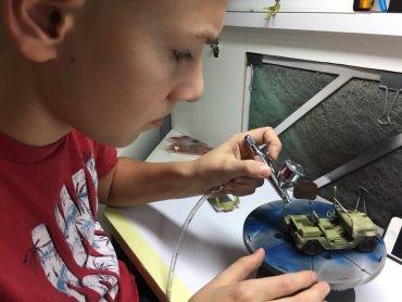 W Kolejkowie dzieci mogą wziąć udział w warsztatach modelarskich (fot. mat. organizatora)