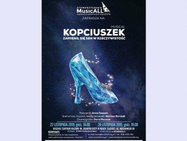 """""""Kopciuszek"""" to pierwsza produkcja Stowarzyszenia """"MusicALL"""" (fot. mat. organizatora)"""
