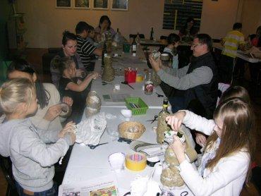 Do tej pory w ramach Weekendowej Akademii Rodzinnej powstało wiele prac w różnych technikach (fot. mat. Zamek Sielecki)